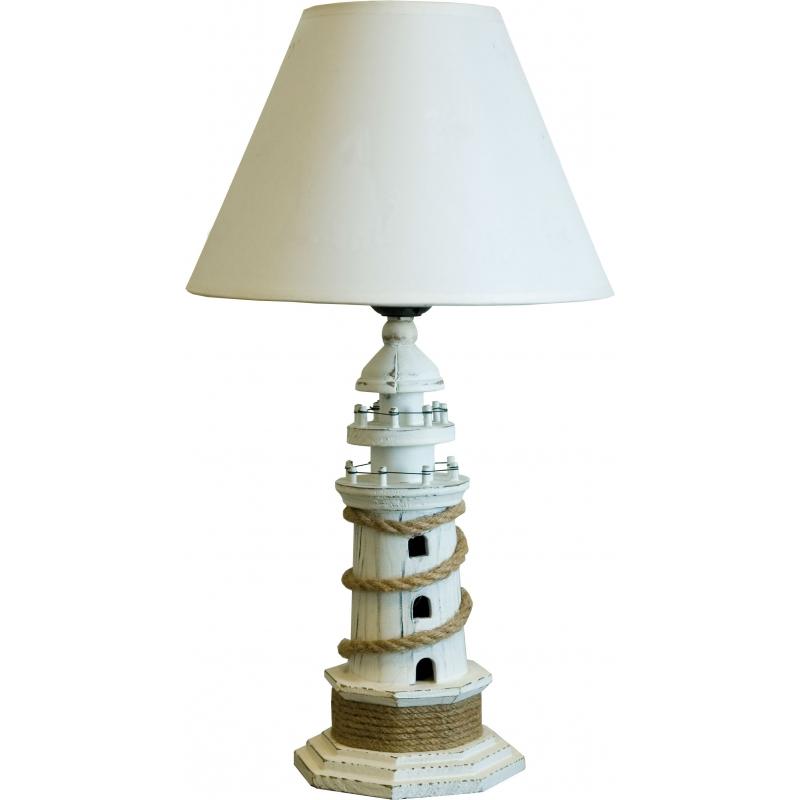 Nautische lamp als meerpaal.35 x 35 x 64 cm | Nautissoires.nl